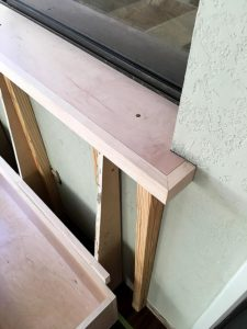 Kevin Waggoner's Banquette - East Austin Carpenters Project