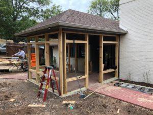 Alice's Porch 05 East Austin Carpenters Project