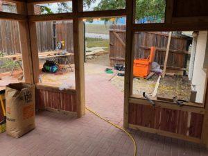 Alice's Porch 10 East Austin Carpenters Project