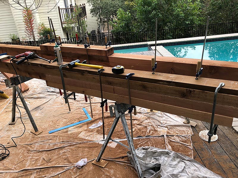 Carlo's Deck 08 East Austin Carpenters Project