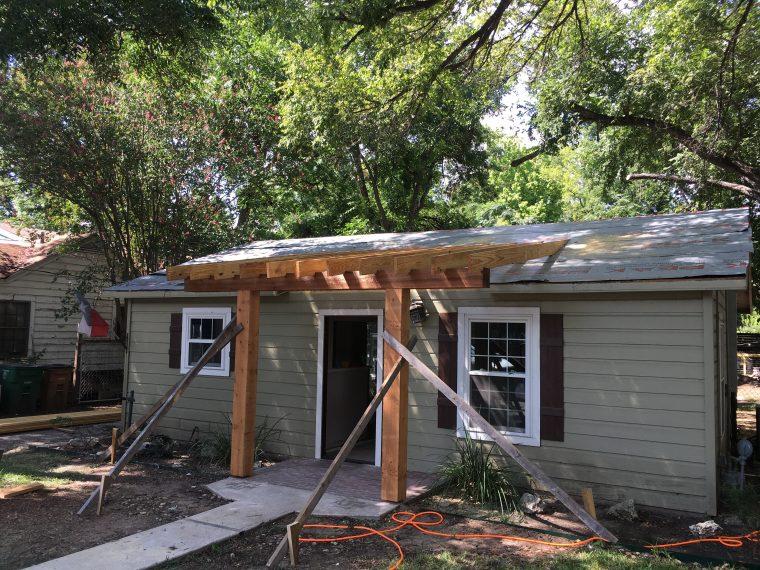 Casita Remodel Project East Austin Carpenters 04