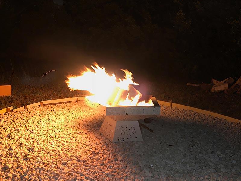 Concrete Fire Pit 05 East Austin Project