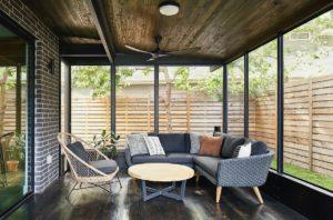 Dana's porch02 east austin carpenters project