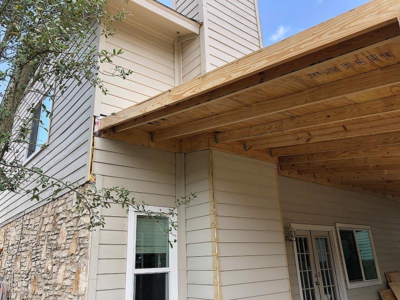 David's Porch 01 East Austin Carpenters Project