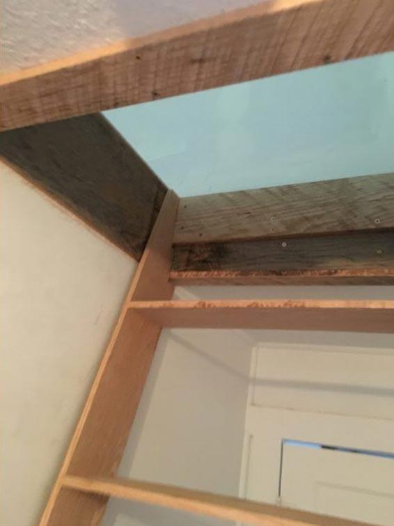 LINDSAY NAKASHIMA'S LOFT East Austin Carpenters Project 06