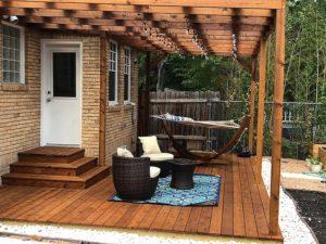 Mandi's Deck 04 East Austin Carpenters Project