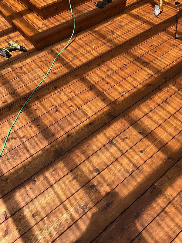 Mandi's Deck 09 East Austin Carpenters Project