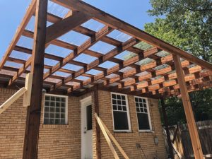 Mandi's Deck 10 East Austin Carpenters Project