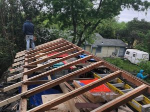 Sam's Roof 05 East Austin Carpenters Project