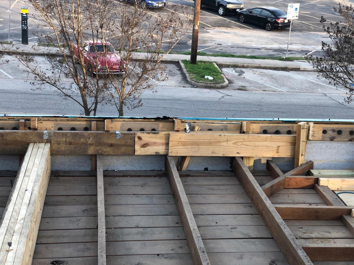 San antonio st 15 east austin carpenters project