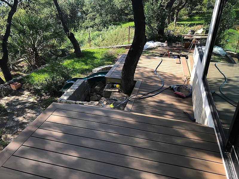 Sherry's Deck 01 East Austin Carpenters Project