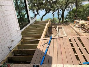 Sherry's Deck 04 East Austin Carpenters Project