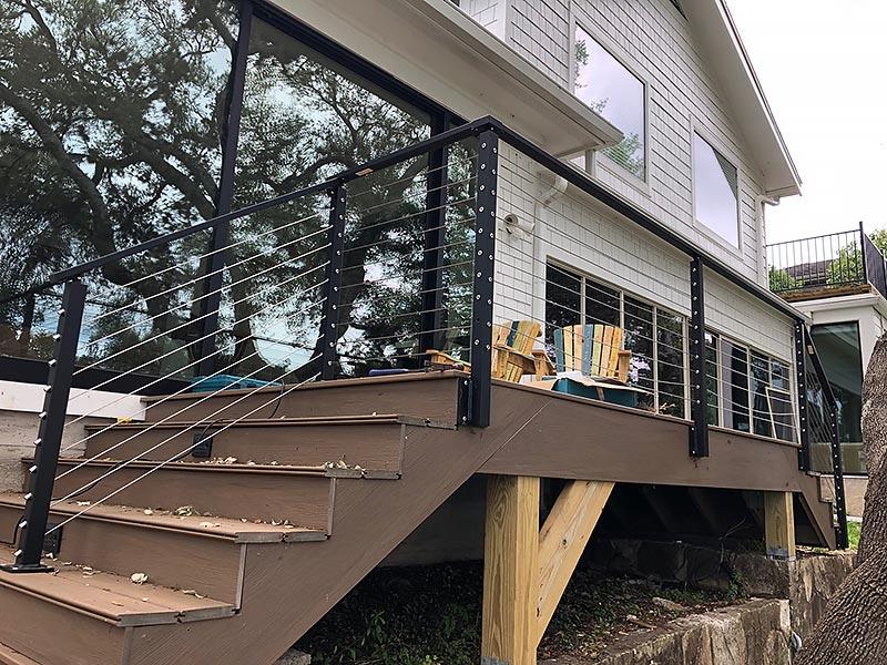 Sherry's Deck 10 East Austin Carpenters Project