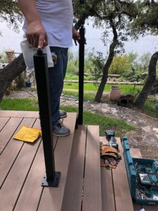 Sherry's Deck 12 East Austin Carpenters Project