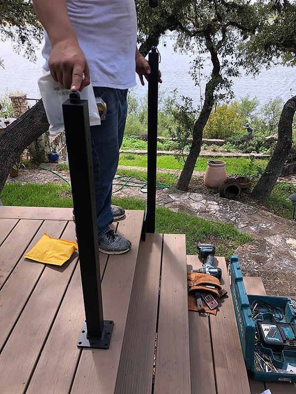 Sherry's Deck 12 East Austin Carpenters Project