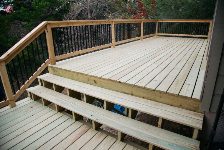 The Curran Family Deck Remodel East Austin Carpenters Project 01