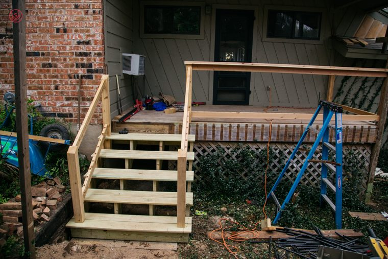 The Curran Family Deck Remodel East Austin Carpenters Project 08