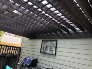 Tim's Pergola 04 East Austin Carpenters Project