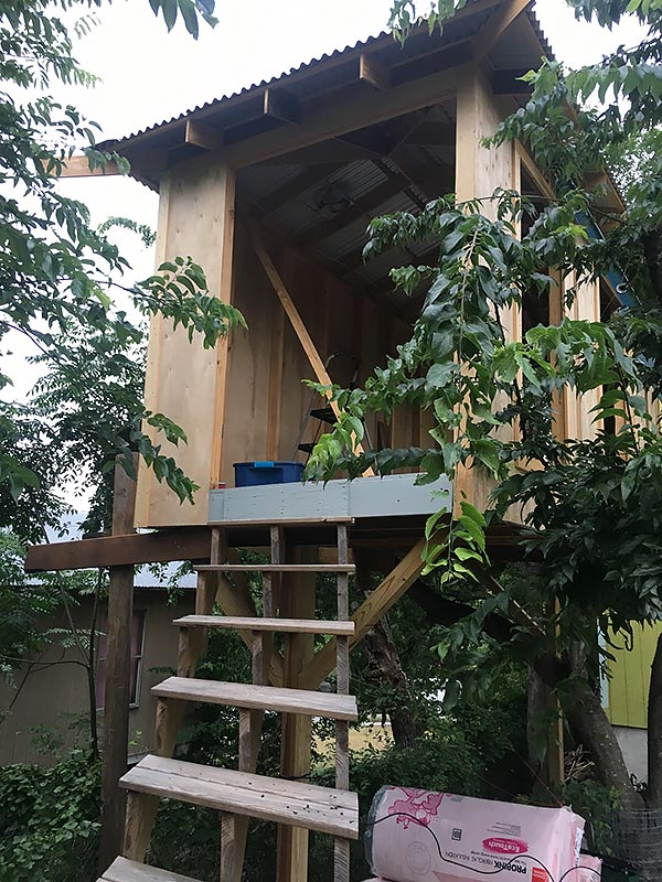 Treehouse Project 10 East Austin Carpenters Project