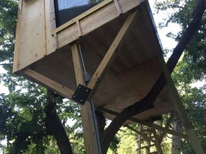 Treehouse Project 12 East Austin Carpenters Project