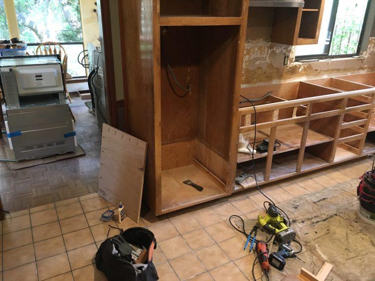 VIEW WEST KITCHEN PROJECT East Austin Carpenters 05