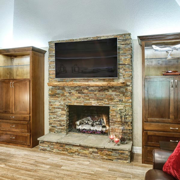 Fireplace Remodeling01 East Austin Carpenters