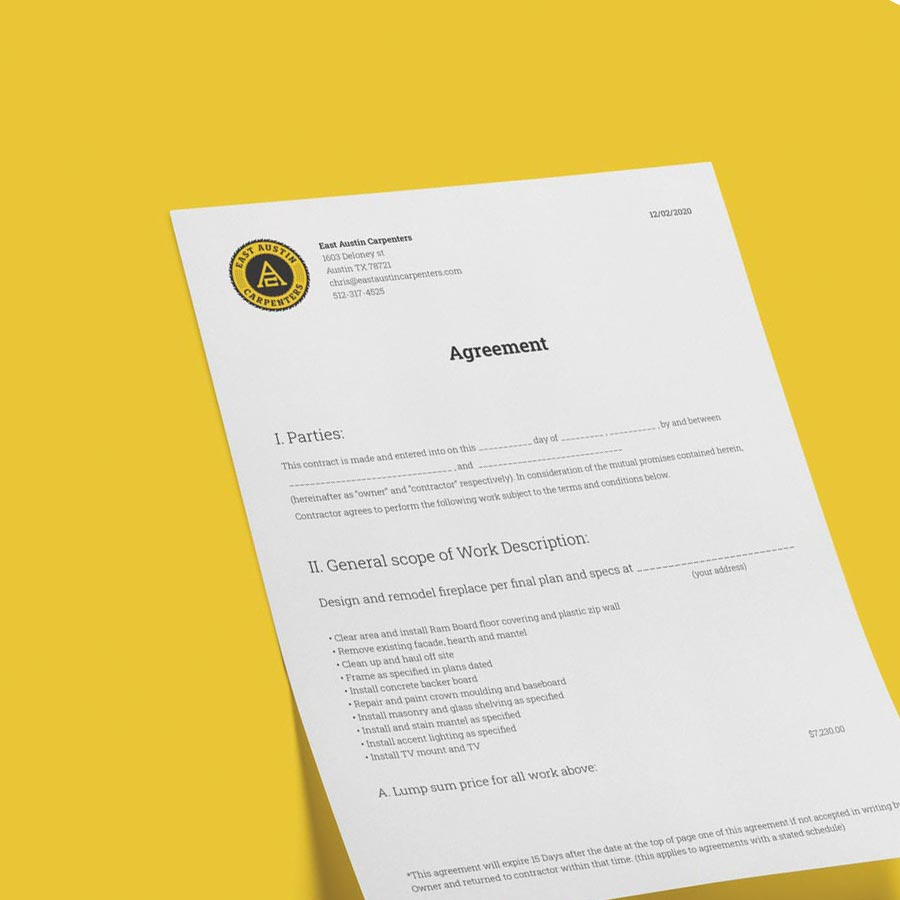 Eac Agreement